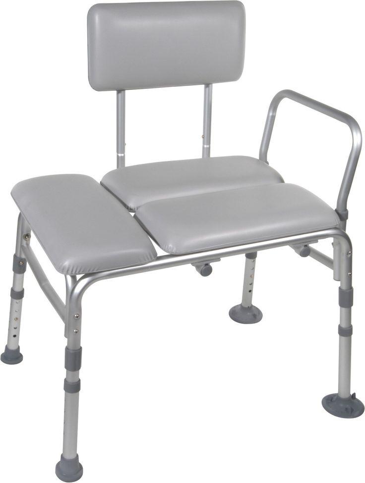 Drive Medical Padded Transfer Bench 12005KD-1