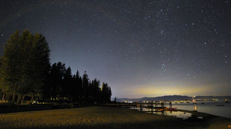 Adventure around the alpine lake doesn't have to end when the sun goes down. Here, the best spots for stargazing in Lake Tahoe.