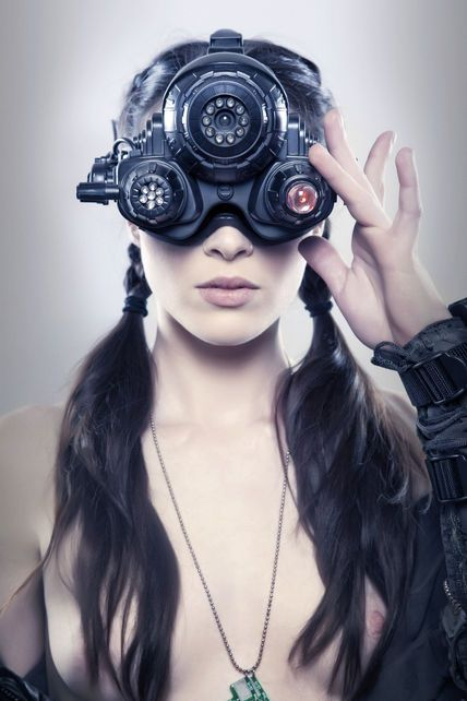 Obvious Winner - So Easy To See The Awesomeness - ow - STOYA Cyberpunk Sexy photos for Bizarre Magazine [kindansfw]
