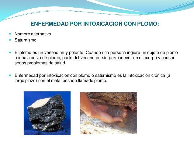  NIVEL DE ACCION:Es aquel valor de concentración ambiental de plomo a partir del cual deben adoptarsemedidas periódicas d...