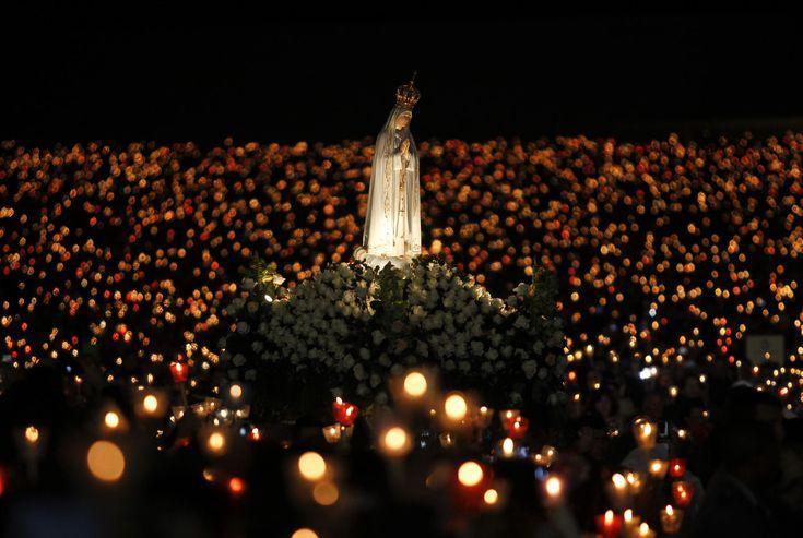 Domani per anniversario #FATIMA, all'udienza accanto a #PapaFrancesco la statua della #Madonna grazie a #Unitalsi