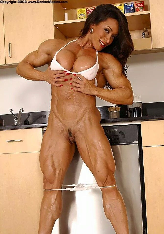 Female Body Building Nude 85