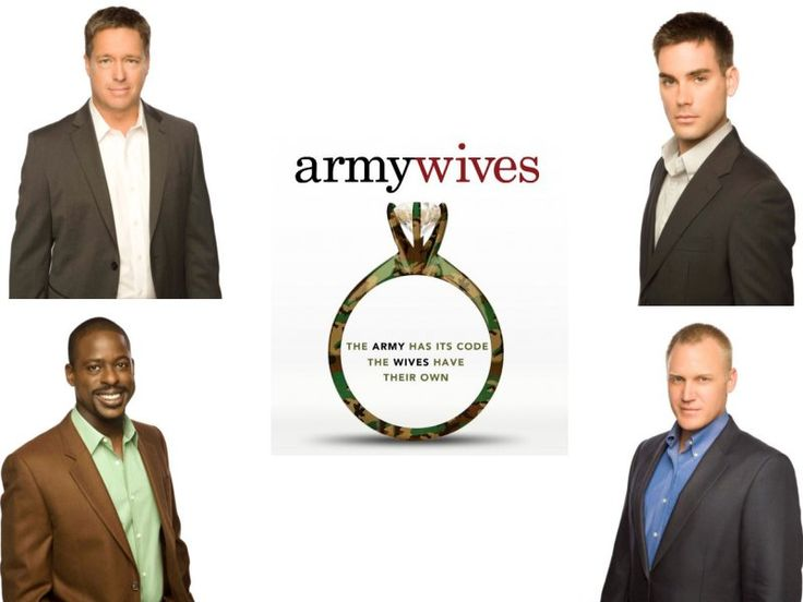 The Men of Army Wives