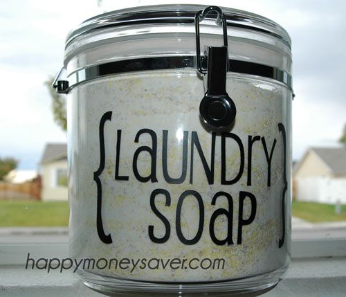 Recipe for HOMEMADE LAUNDRY DETERGENT (A Years supply for just $20!)