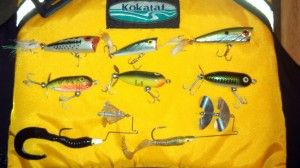 Essential lures for river smallmouth bass