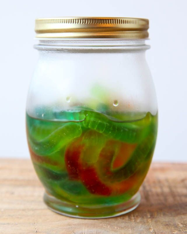 How to Make Vodka Gummy Worms for Halloween- Featuring Finlandia, so you know it's good.