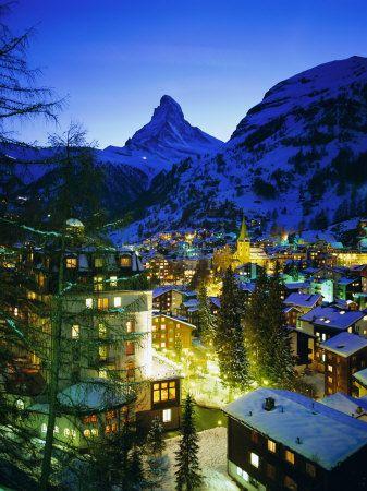 Matterhorn. Swiss Alps.