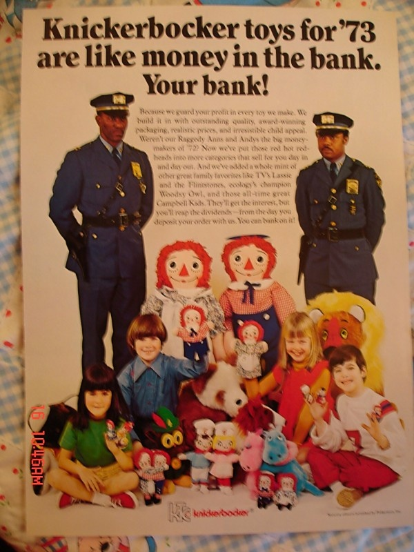 Popular Toys In 1973 : Best images about raggedy ann ads on pinterest