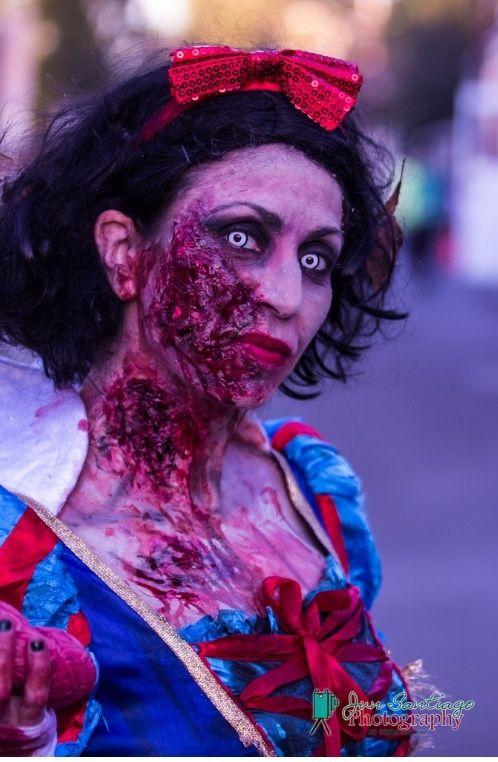 Zombie Snow White Halloween Costume Halloween Makeup