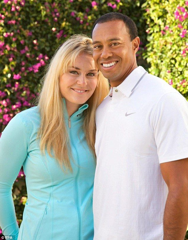 Tiger Woods caught cheating on girlfriend Lindsay Vonn.  Just can't learn from past mistakes.