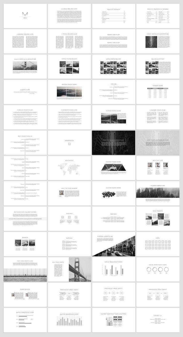 23 best presentations images on pinterest presentation layout mesa elegant presentation toneelgroepblik Gallery