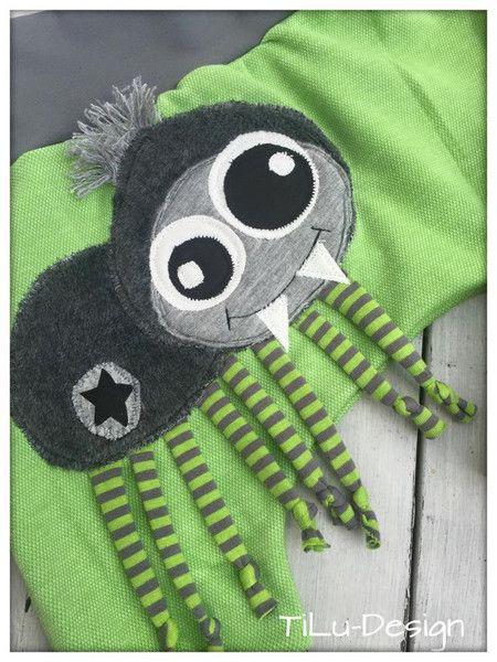 Applikationsvorlage Spinne von TiLu-Design auf DaWanda.com