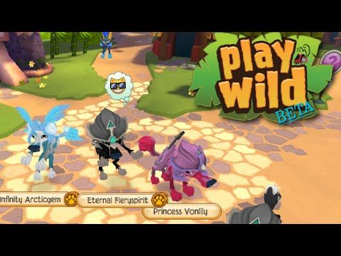 Testing: Play Wild BETA! (Unreleased Animal Jam app) - YouTube