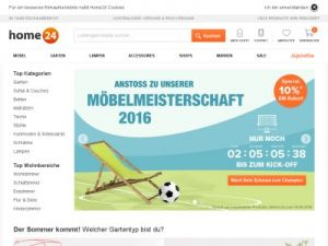 Home24.de » Gutscheine, Aktionen und Rabatte • 2016