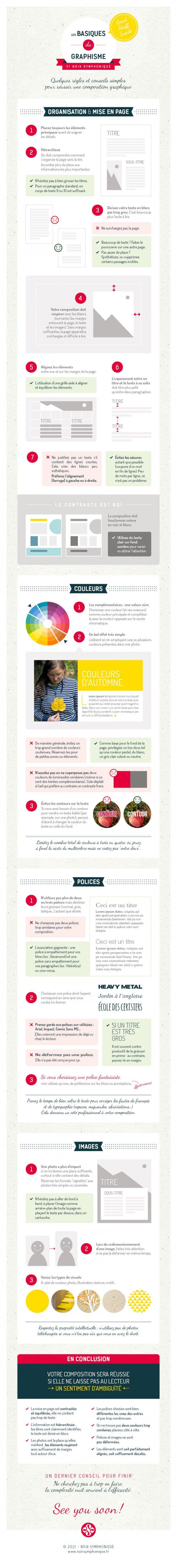 Règles, conseils basiques et fondamentaux du graphisme