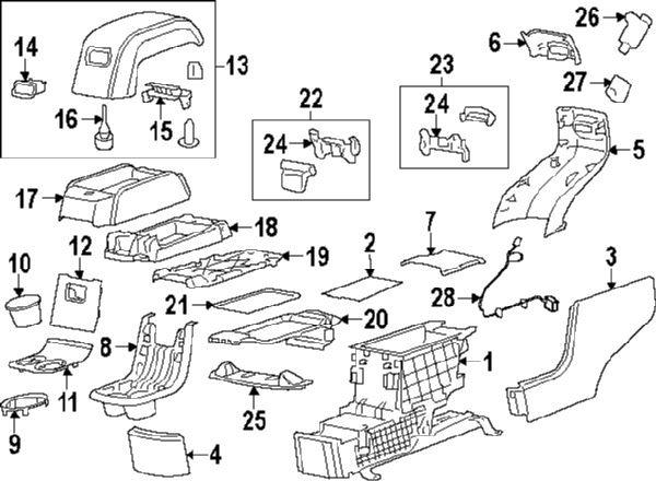 50 2008 Gmc Acadia Parts Diagram Dc3h