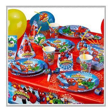 #PartiPaketi #Örümcekadampartisi #partimalzemeleri #Spiderman #Örümcek #Adam #Doğum #Günü #Kutlama #Seti