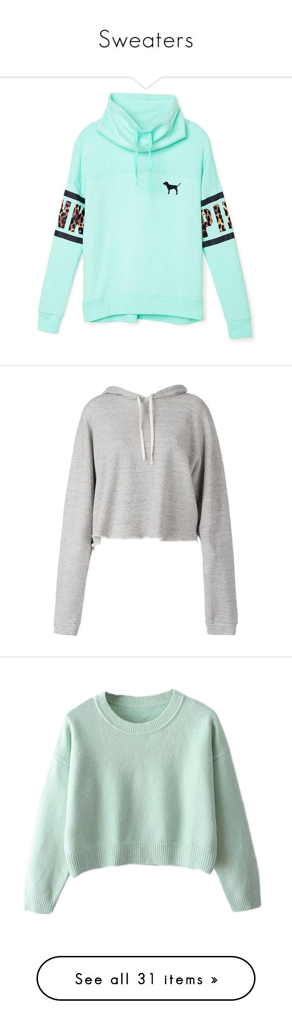 """Sweaters"" by realbeauti on Polyvore featuring tops, hoodies, sweatshirts, sweaters, jackets, shirts, blue hoodie, hooded sweatshirt, cowl neck hoodie and pullover sweatshirts"