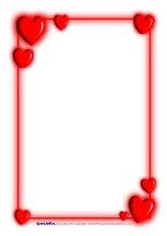 valentine photo borders