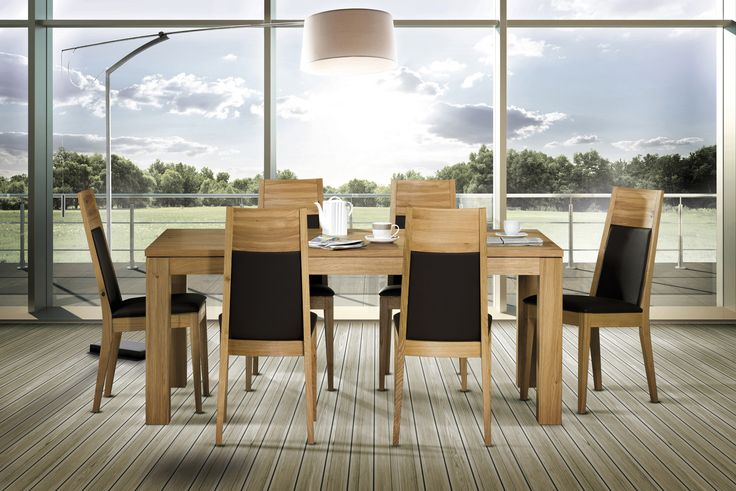 Dinning Room Ideas. The T7 table and S18 chairs from Klose. The dinning room furniture for those who know that quality is extremely important! #DinningRoomFurniture #WoodenTable #KloseFurniture