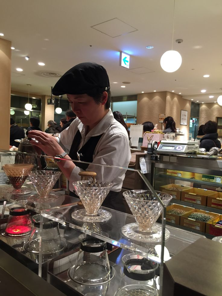 Superb coffee served in this cosy little place called Johan Paris Bakery in Mitsukoshi Department Store, Ginza, Tokyo