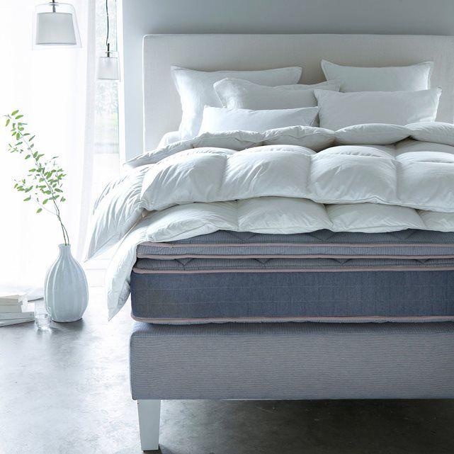 Couette polyester effet duvet Banket blanc Am.Pm pas cher prix Couette AM.PM La Redoute 149.00 €