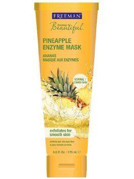 Freeman Masque enzymatique Feeling Beautiful pour le visage - Extraits d'ananas - 175 ml