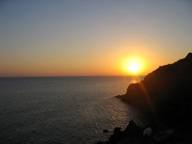 tramonto a pantelleria