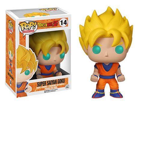 POP animado Dragon Ball Z Goku Super Saiyan