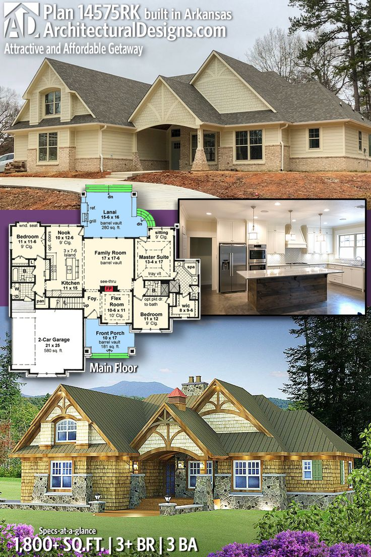 Architectural Designs House Plan 14575RK client built in