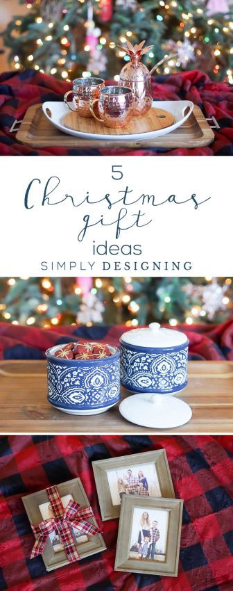 5 Christmas Gift Ideas - easy unique and fun holiday gift ideas #sponsored #BHGLiveBetter #BHGCelebrate #Walmart