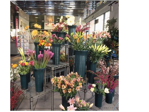 Floral Displays for Grocery Store