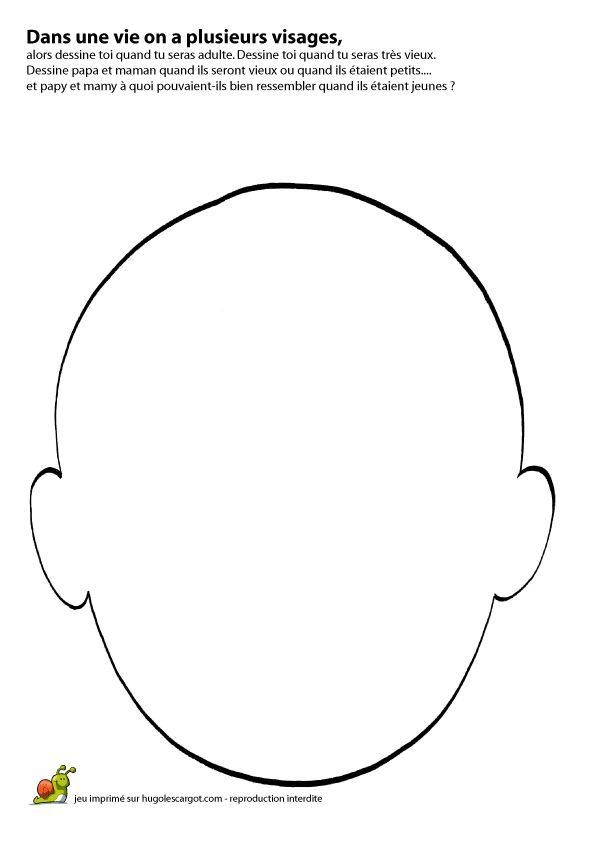 Jeux visage page 1 sur 18 sur - Dessin de visage a imprimer ...