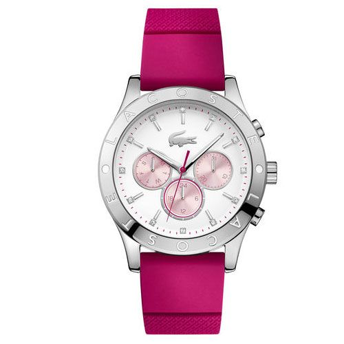 Relógio Lacoste Feminino Borracha Rosa - 2000941