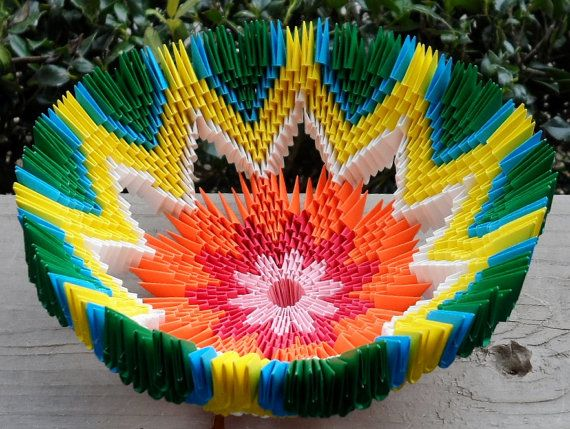 Hey, I found this really awesome Etsy listing at https://www.etsy.com/listing/206535658/3d-origami-bowl
