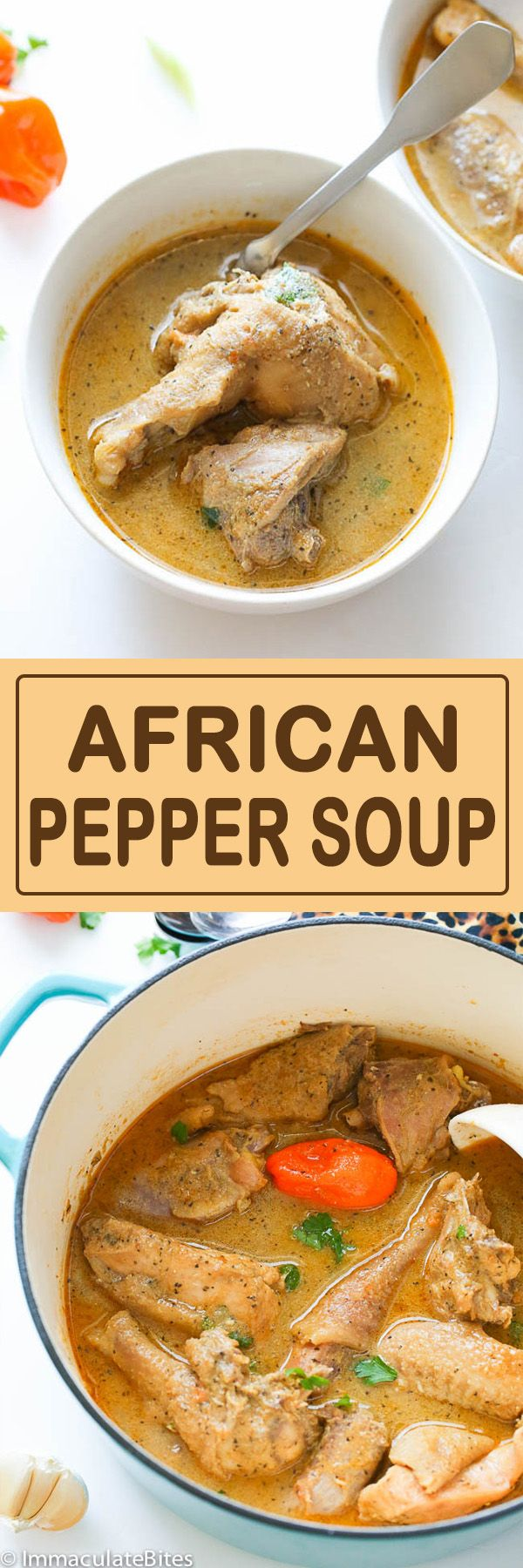 African pepper soup is a delightfully ,intensely flavored soup that is served throughout West Africa, especially in Nigeria, Cameroon and other neighboring African countries.