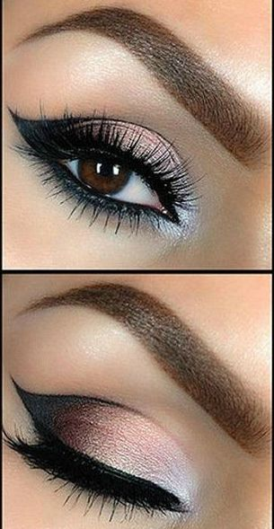 Tutorial: Beautiful Smokey Eye Makeup - Want to do it yourself? Click on the image for the tutorial!