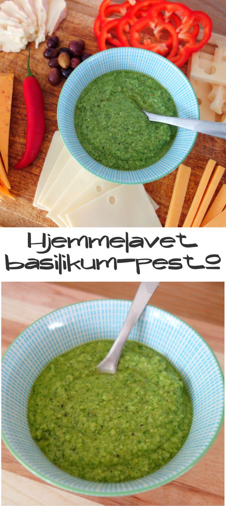Endnu engang viser det sig, at hjemmelavet bare er bedre. Denne grønne pesto lavet på basilikum og parmesan er super nem at lave og passer til rigtig mange ting.