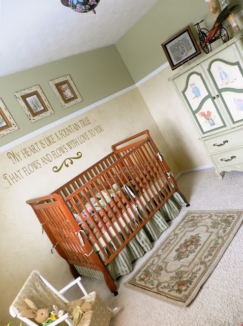 A Beatrix Potter and Peter Rabbit Baby Nursery