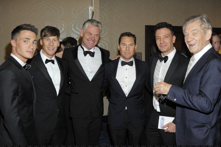 Celebrating Male Celebrities Who Have Come Out of the Closet! colton haynes Dustin Lance Black Bryan Singer ian mckellen