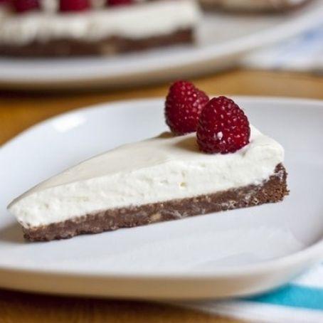 Tarta de yogur y Nutella sin horno