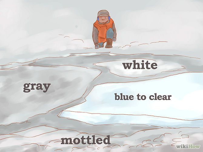 How to know when ice is safe to skate on - a 10 step wiki: http://www.wikihow.com/Know-When-Ice-is-Safe