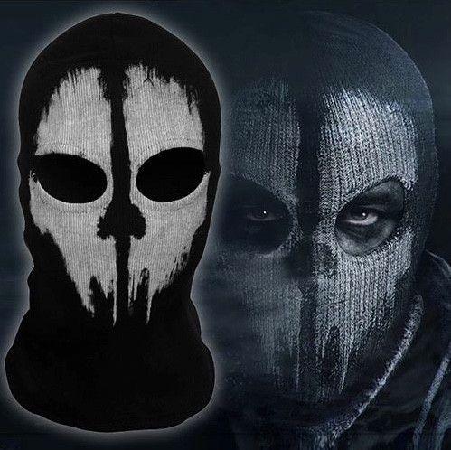 Balaclava Face Mask - Ghost Print