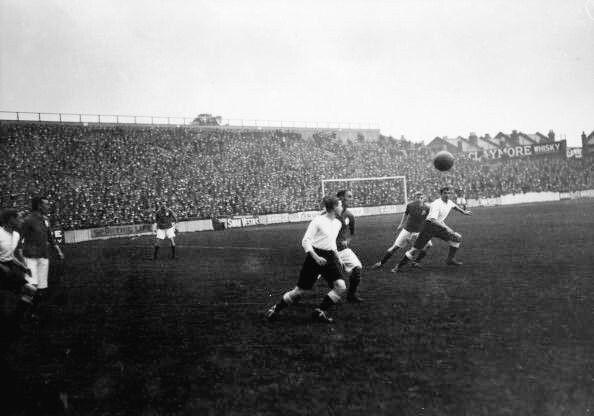 Spurs v Everton.  WHL 1912