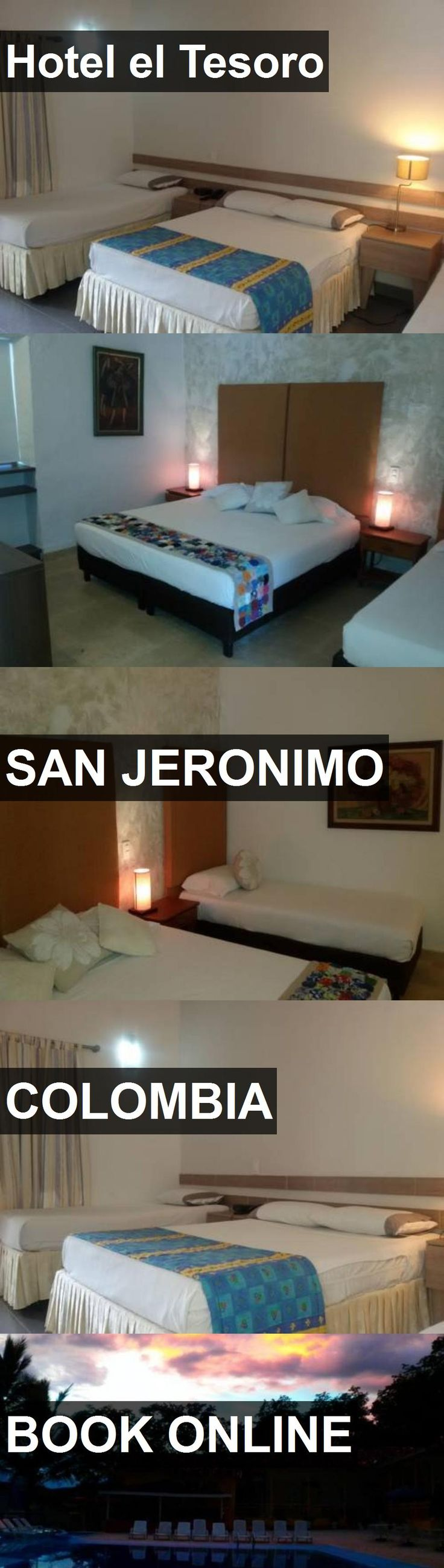Hotel Hotel el Tesoro in San Jeronimo, Colombia. For more information, photos, reviews and best prices please follow the link. #Colombia #SanJeronimo #hotel #travel #vacation