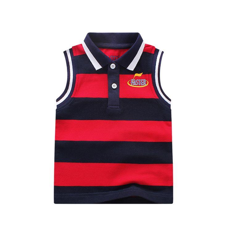 Бренда летние мальчики футболка 100% хлопок детская одежда мальчик полосатые поло рубашка свободного покроя топы