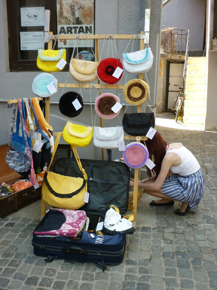 handmade bags - Bucarest