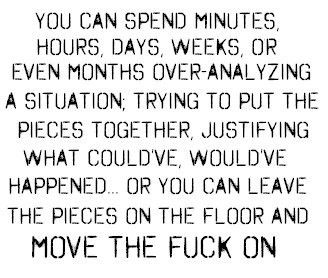 Truth: Fucking, Movingon, Crossword Puzzles, Inspiration, Moving On, Quotes, So True, Truths, Living