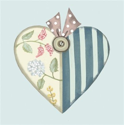Sally Swannell - Patchwork Heart