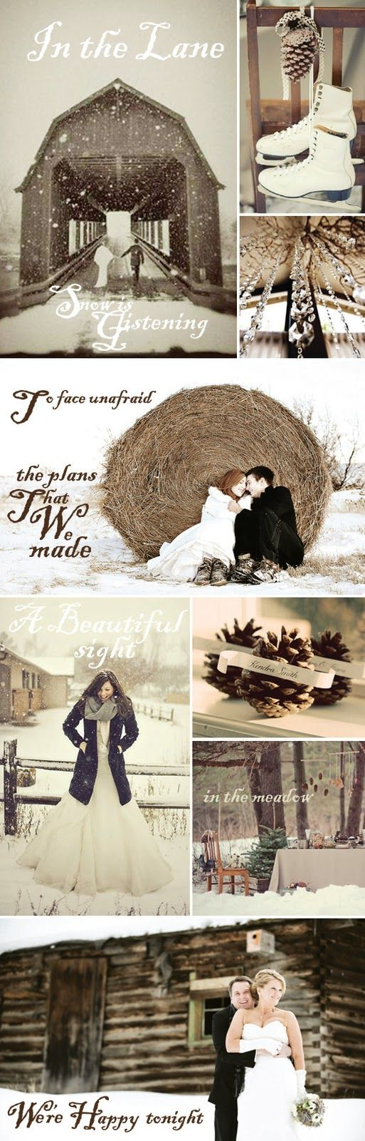 Walking in a Winter Wedding Land - My Wedding Reception Ideas | Blog